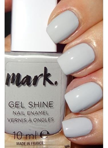 Avon Avon Mark Gel Shine Oje Moondust Beyaz